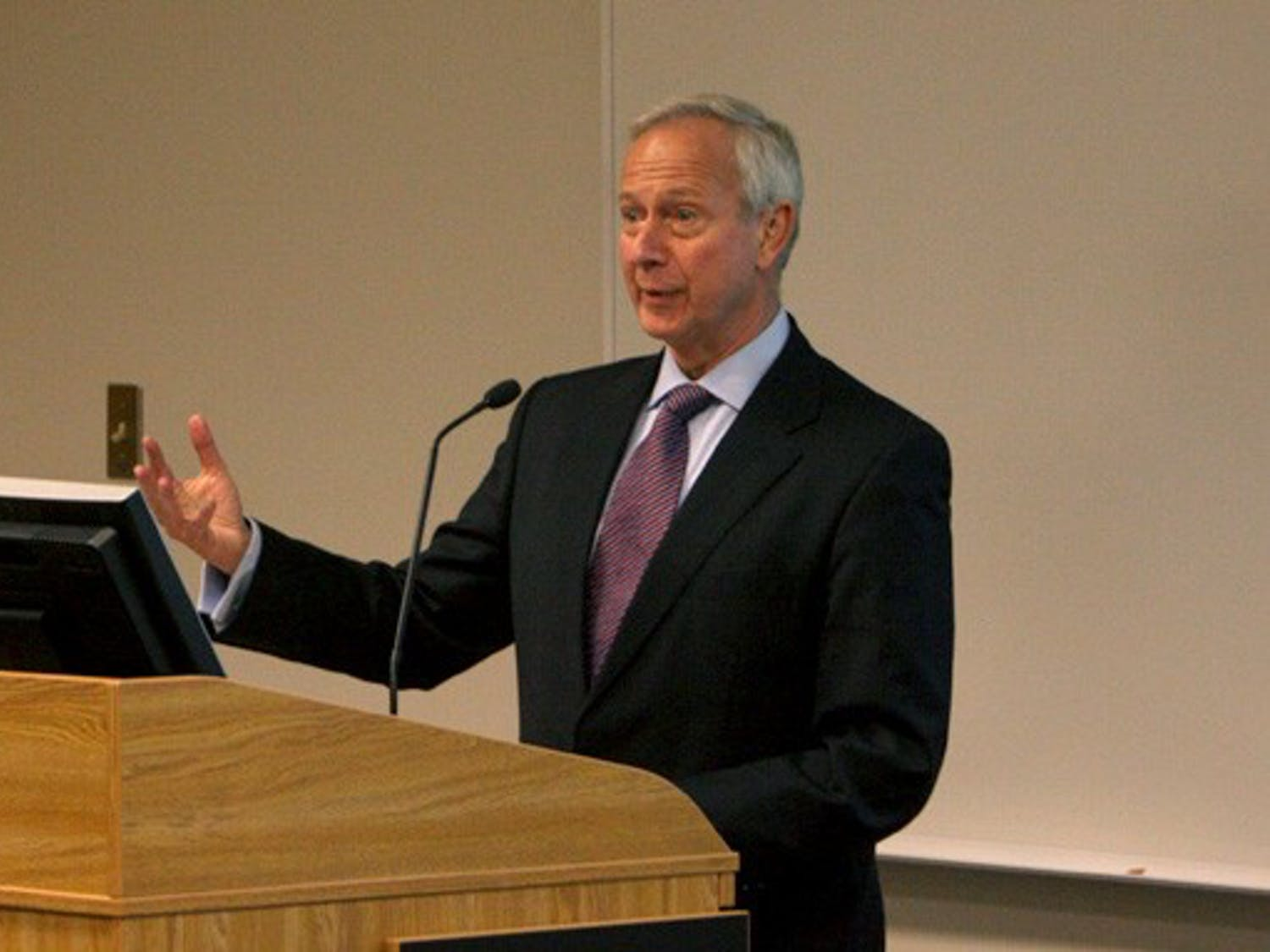 President Richard Brodhead was asked to address Academic Council Thursday on the recent cyberattacks linked to Shanghai Jiao Tong University.