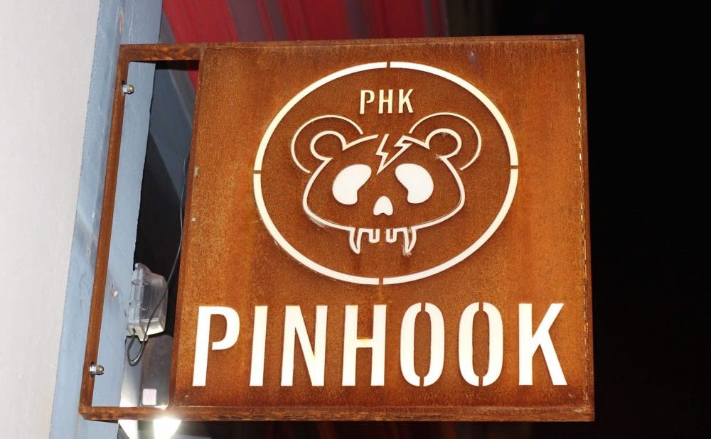 <p>A downtown Durham staple, the Pinhook is an intimate live music venue host to both local and national acts.</p>