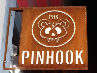 A downtown Durham staple, the Pinhook is an intimate live music venue host to both local and national acts.