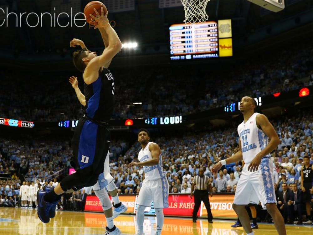 Sophomore Grayson Allen and the Blue Devils took on the role of gritty underdog during a tough four-game ACC stretch.