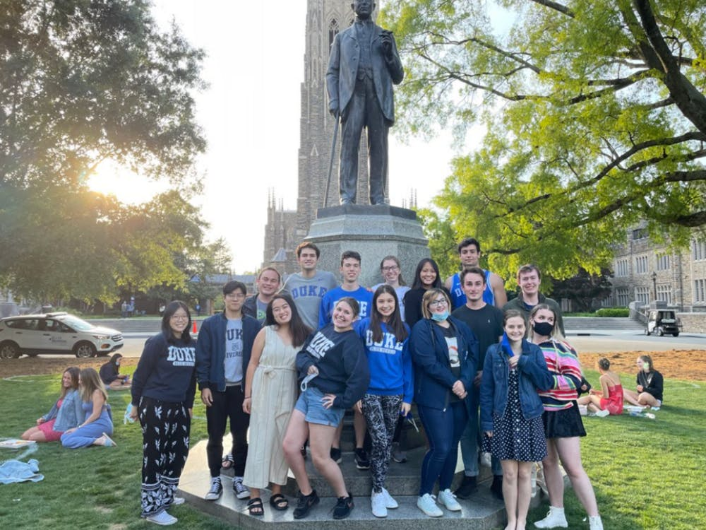 <p>Approximately 260 Duke Kunshan University students plan to study abroad in Durham this fall.</p>
