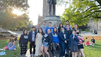 Approximately 260 Duke Kunshan University students plan to study abroad in Durham this fall.