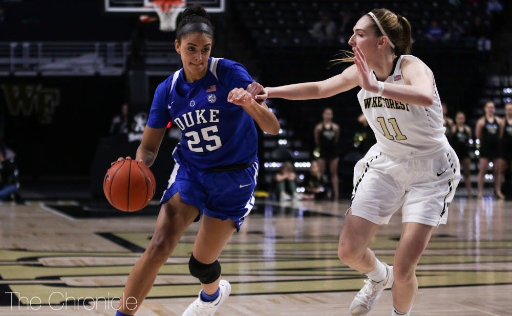 <p>Jade Williams was dominant on the interior Saturday.</p>