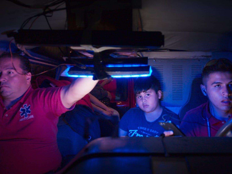 """""""Midnight Family"""" follows the Ochea family, who run a private ambulance company in Mexico City."""