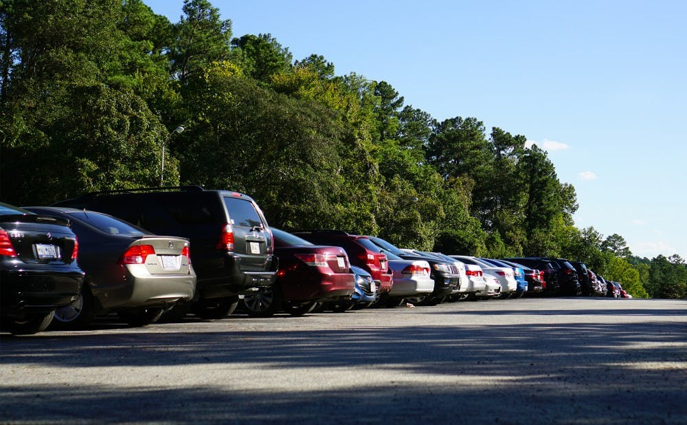 <p>Students said that they often cannot find an open spot in the Blue Zone lot, where undergraduates park.</p>