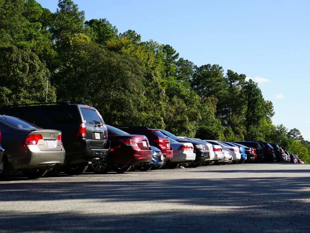Students said that they often cannot find an open spot in the Blue Zone lot, where undergraduates park.