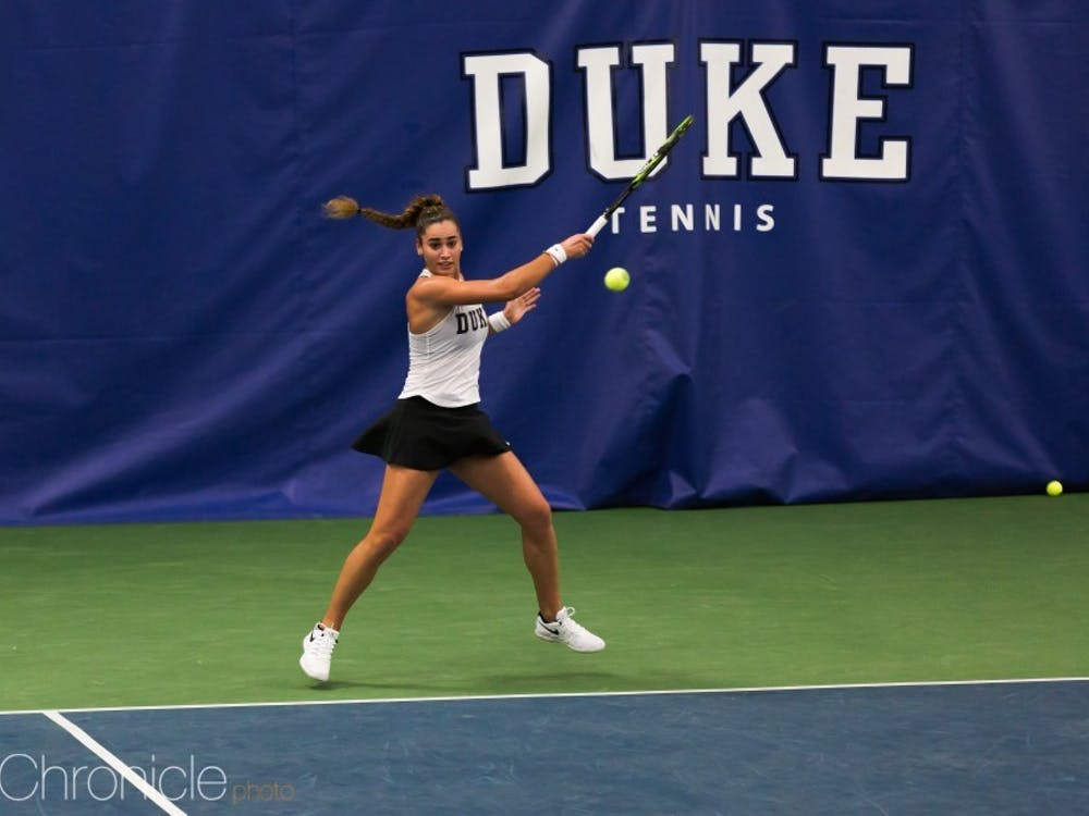 Maria Mateas could not pull out the victory against the second-ranked player in the nation.