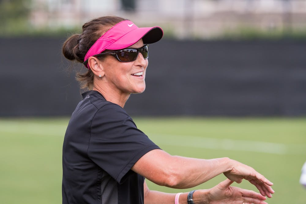 Overbeck is entering her 29th season on the Blue Devil coaching staff.