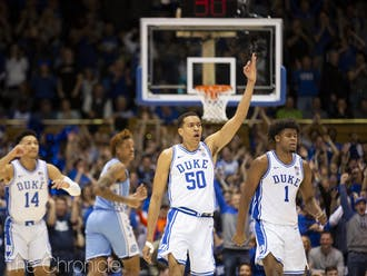 Justin Robinson finished off his five-year career in Durham with a performance for the ages against North Carolina.