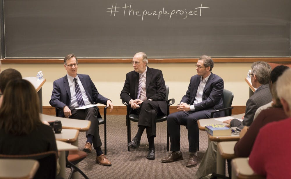"<p>The event centered around clips from a new PBS documentary, ""Divided States of America,"" which focuses on political polarization.</p>"