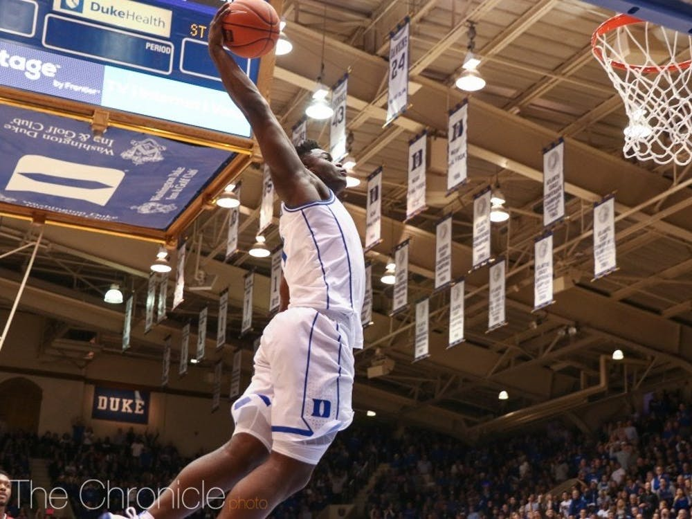 Zion Williamson will be back in action tonight against Syracuse.