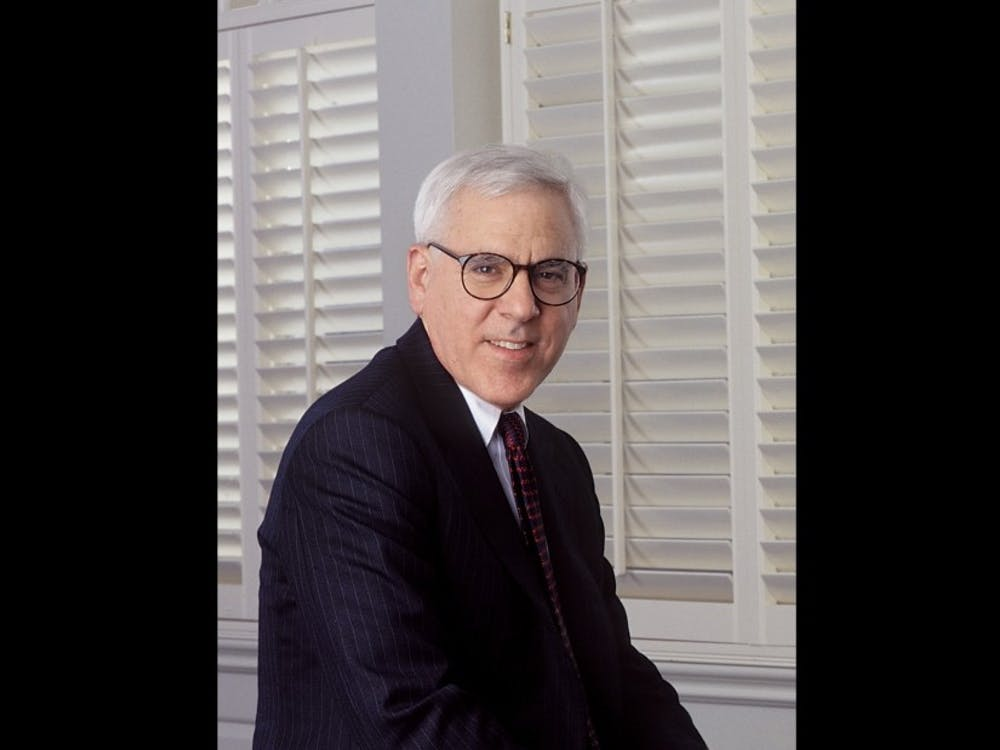 David Rubenstein currently serves as the chair of the Board of Trustees.