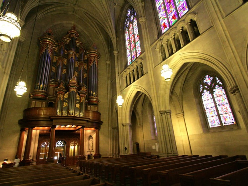 Duke Chapel boasts three pipe organs, which are played casually for the public between 12:30 and 1:30 p.m. on Mondays through Thursdays during the academic year.