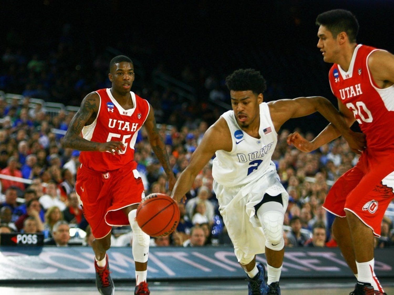 After the Lakers' win and the Celtics' loss, Quinn Cook becomes the sole former Blue Devil remaining in the NBA playoffs.