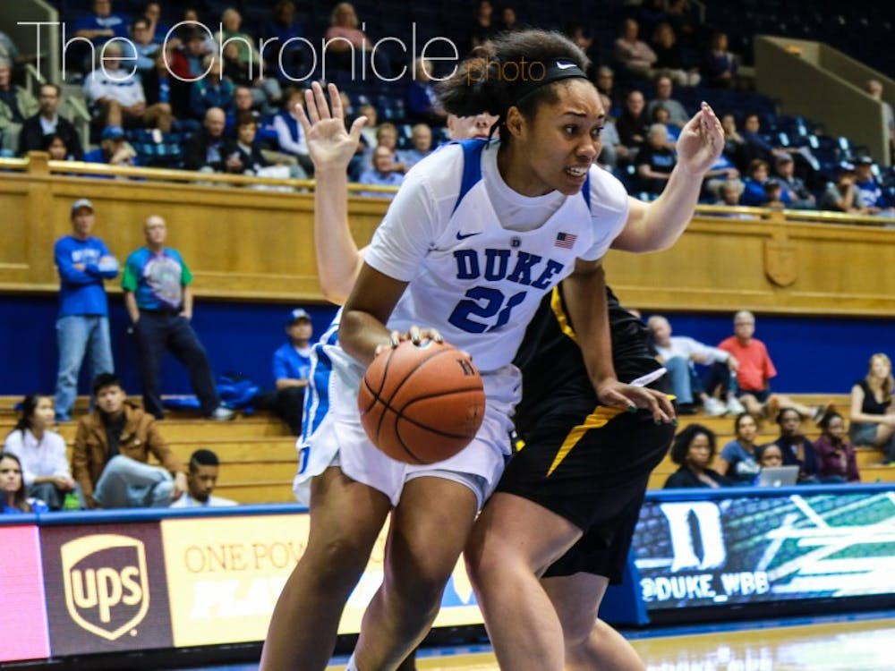 Kendall Cooper was not enrolled at Duke last semester but is back with the Blue Devils for her senior season.
