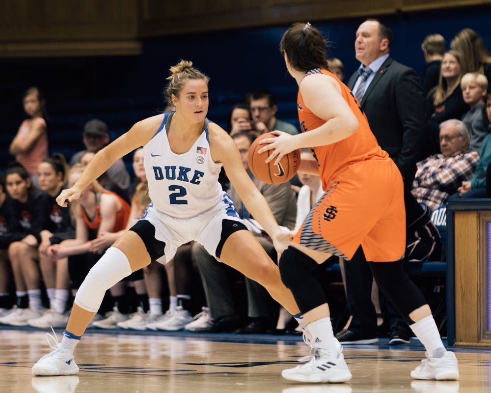 <p>Haley Gorecki torched Idaho State Thursday.</p>