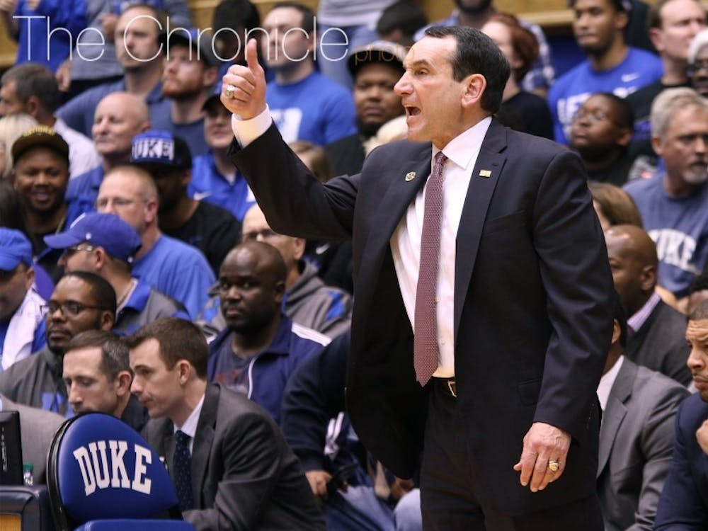 The season marks just the 11th time that head coach Mike Krzyzewski has finished outside the top-10 of the final AP poll during his 40 years with Duke.