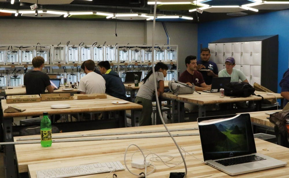 <p>The center aims to provide a place for students to interact with OIT faculty.</p>