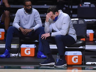 Duke's NCAA tournament hopes are dwindling now after Saturday's loss.