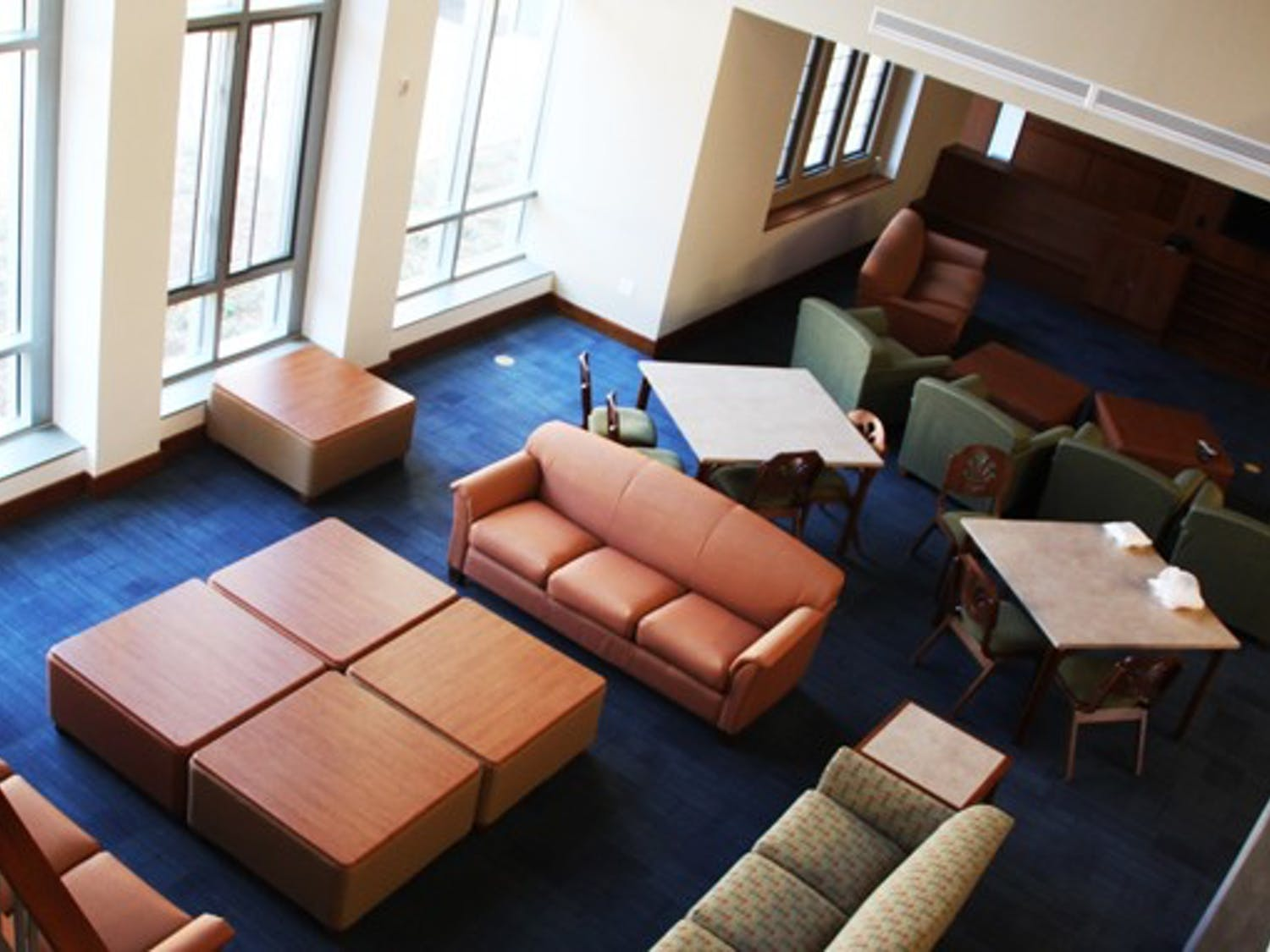 Keohane 4E Quadrangle opened for students in the Spring semester, adding 150 beds to West Campus.