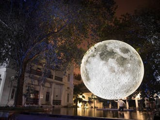 "Luke Jerram's ""Museum of the Moon"" installation arrives in Durham Oct. 31, after having toured numerous locations around the world since 2016."