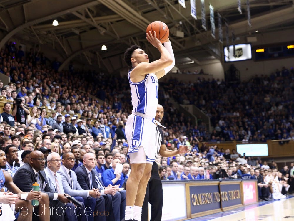 Duke's guards, including junior Jordan Goldwire, will be essential throughout the ACC tournament.