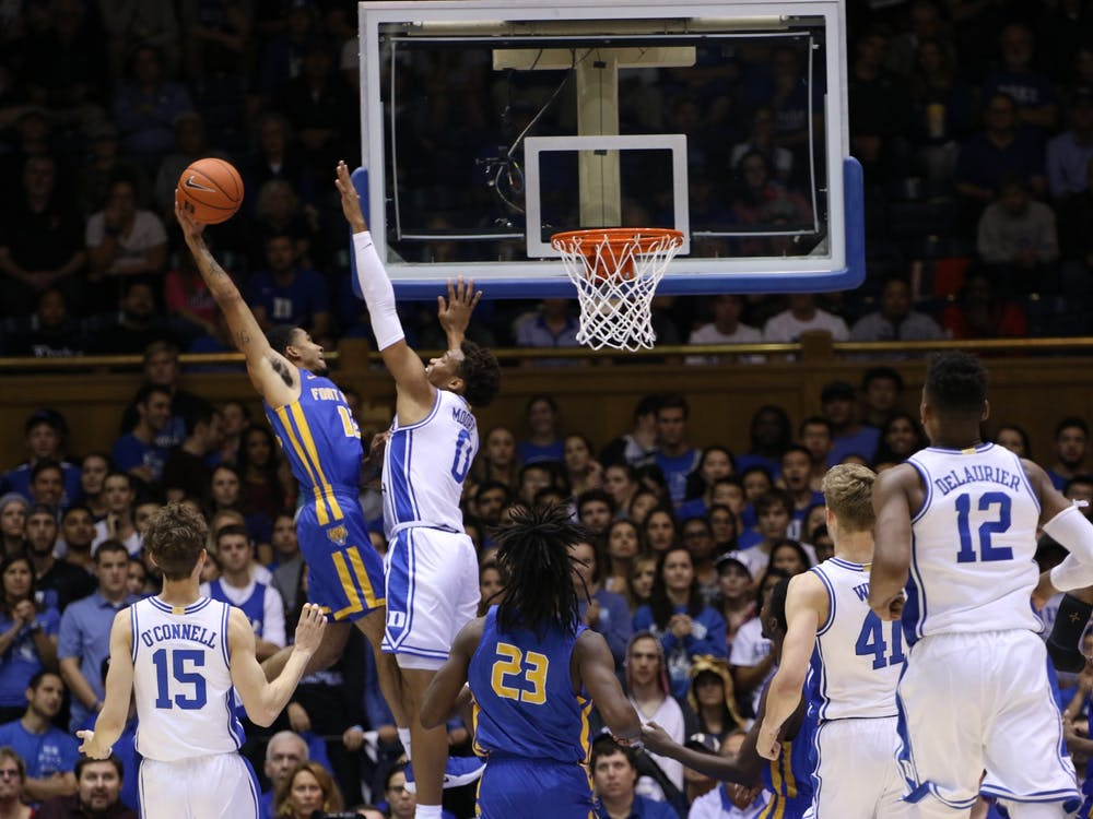 Duke had a blow out victory against Fort Valley State. Here are Juan Bermudez and Marianna Barrett's photos from the event.