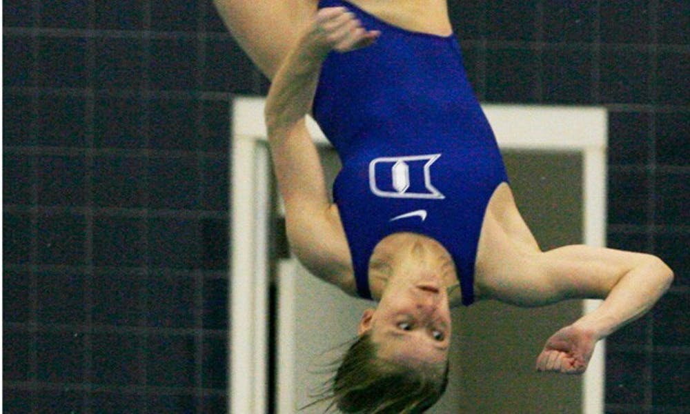 Abby Johnston successfully defended the one- and three-meter diving titles in Atlanta this weekend.