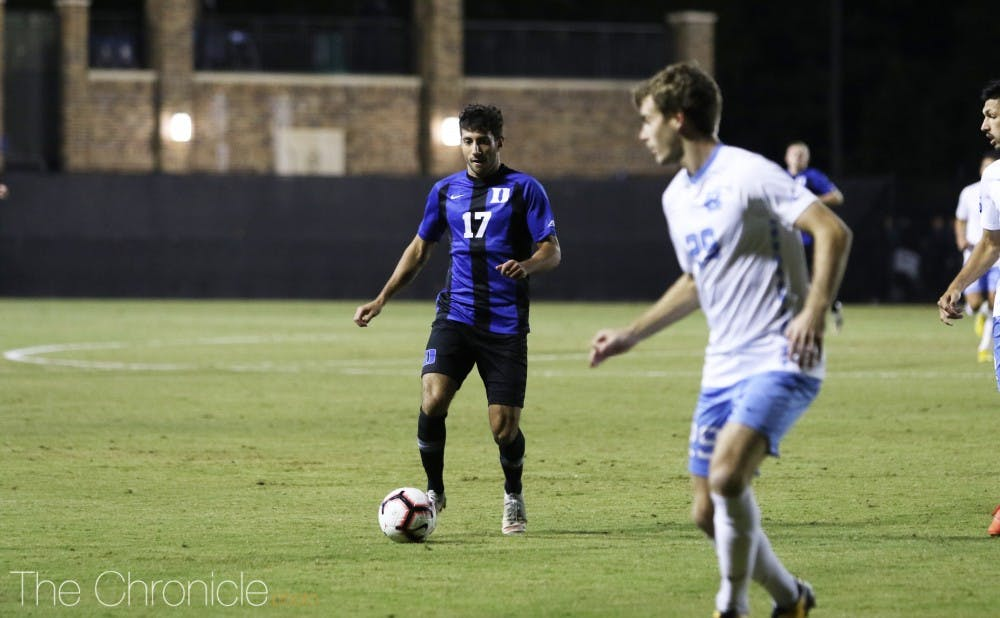 <p>Issa Rayyan has been a key development in Duke's offense as of late.</p>