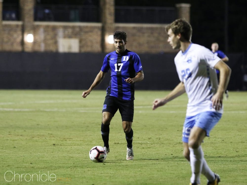 Issa Rayyan has been a key development in Duke's offense as of late.