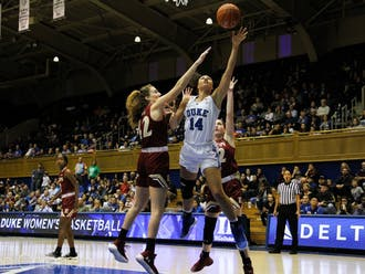 Faith Suggs had an efficient afternoon and was one of four Blue Devils in double figures.