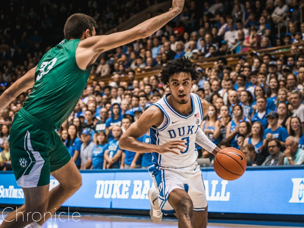 Although Tre Jones' defense continued to shine, his offensive game was limited.