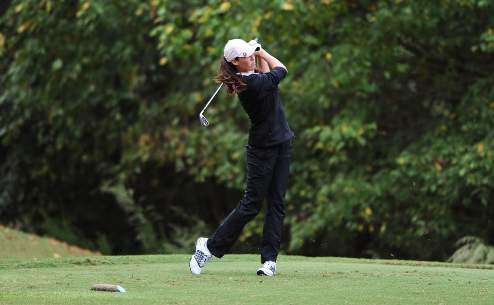 <p>Laetitia Beck is the only LPGA player from Israel and won a national championship in 2014 with the Blue Devils.&nbsp;</p>