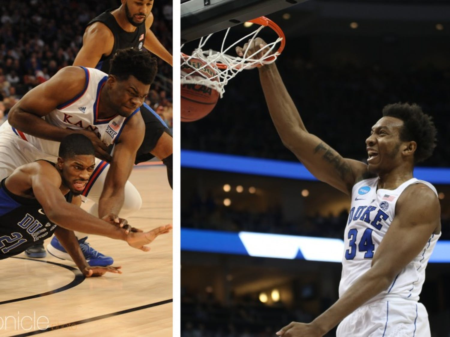 Big men Wendell Carter Jr. and Udoka Azubuike were AAU teammates in high school.
