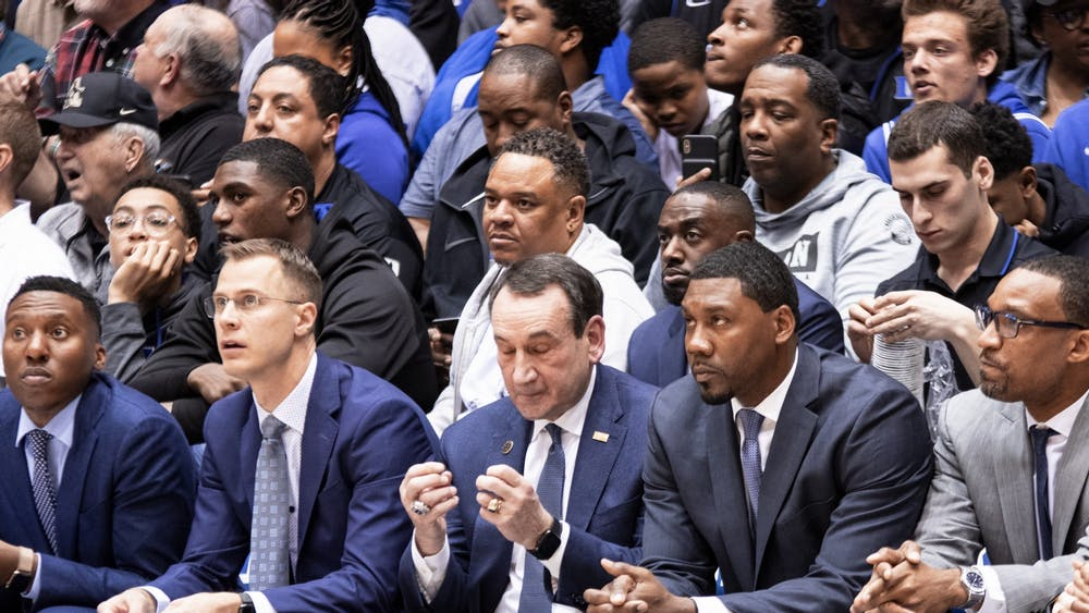 Duke fans wanted to close their eyes while watching the Blue Devils' second straight loss.