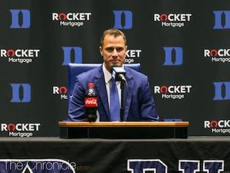 Jon Scheyer's first recruit as incoming head coach was Kyle Filipowski.