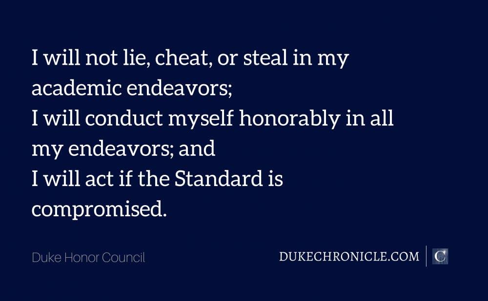 Duke Honor Council Sep 19