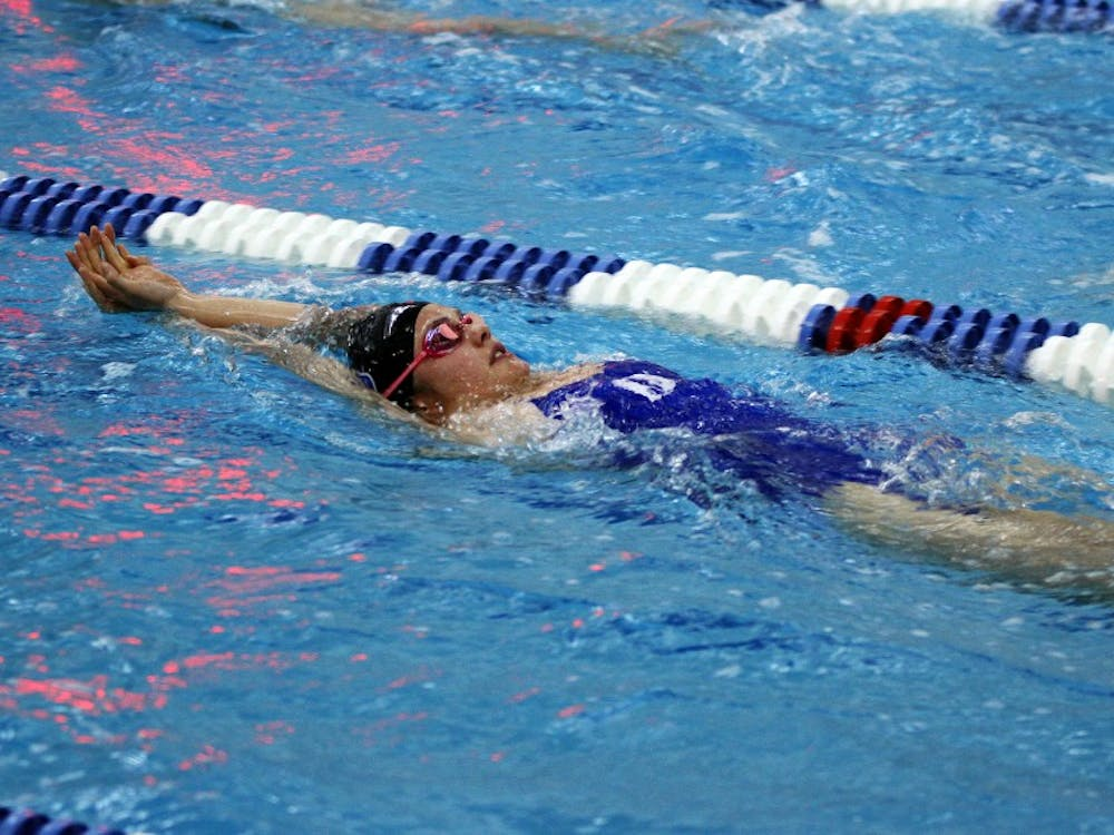 The pool records continued to fall for the Blue Devils this weekend as Duke took down William & Mary and Old Dominion Saturday at Taishoff Aquatic Pavilion.
