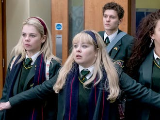 """Derry Girls,"" which premiered in Jan. 2019, portrays the teenage experience with war-torn North Ireland as its backdrop."