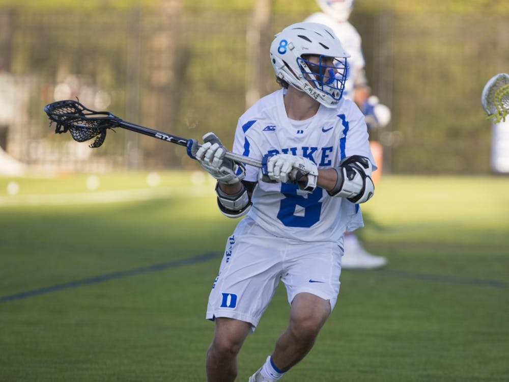 Joe Robertson scored the game winner to send the Blue Devils to the Final Four, finally knocking off a Notre Dame squad that has caused them headaches throughout the season.