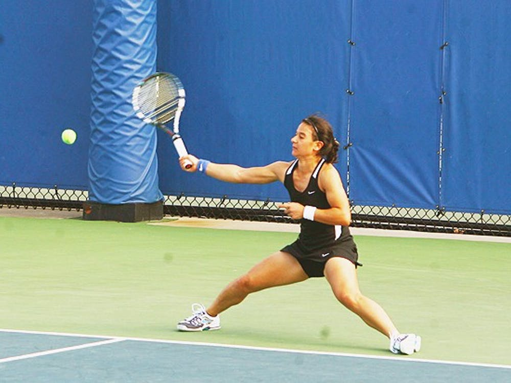 Hanna Mar won the decisive match in a third-set tiebreak to clinch Duke's victory against Virginia.
