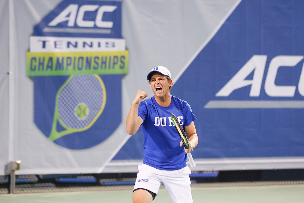 <p>Despite the Blue Devils' loss to the Demon Deacons Saturday, players such as freshman Andrew Dale showed promise.</p>