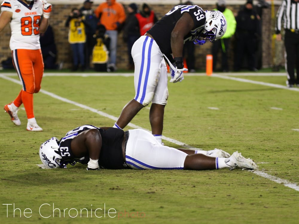 The Blue Devils' 2019 season reached a low point Saturday.