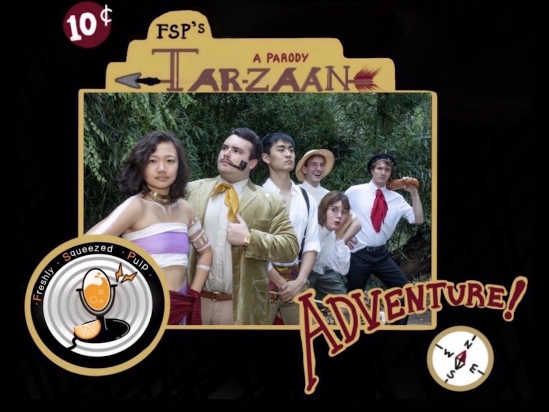 "One of FSP's series chronicles the adventures of ""Tar-Zaan,"" which parodies Edgar Rice Burroughs' original ""Tarzan."""