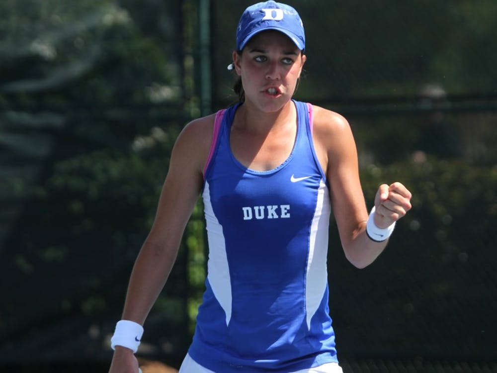 Sophomore Beatrice Capra advanced to the second round of the NCAA Singles Championship Wednesday.