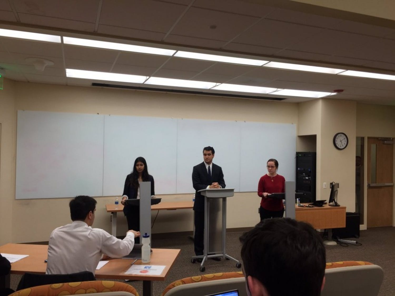 DSG presidentialcandidates debated campus issues Friday.
