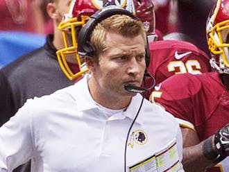 The Los Angeles Rams are reaping the rewards of the gamble they took by hiring young Sean McVay last year.