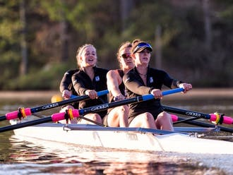 Duke rowing freshmen had a strong outing this weekend.