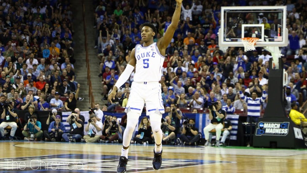 R.J. Barrett becomes the second Duke product, after Marvin Bagley III, to sign a multi-year shoe deal with Puma.