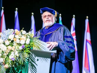 Denis Simon stepped down June 30 as Duke Kunshan University executive vice chancellor.
